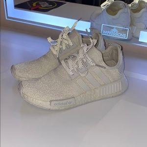 Adidas Shoes Nmd R1 White Reflective Poshmark